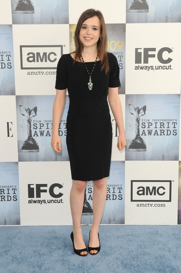 Ellen Page at 2009 Independent Film Spirit Awards
