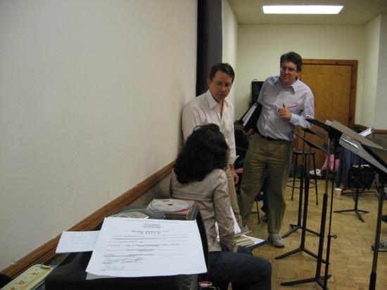 Jen Bender, David Loud and Josh Rosenblum