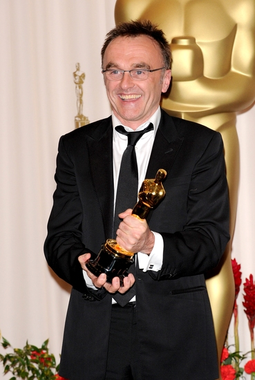Danny Boyle at OSCARS 2009 - The Winners Room