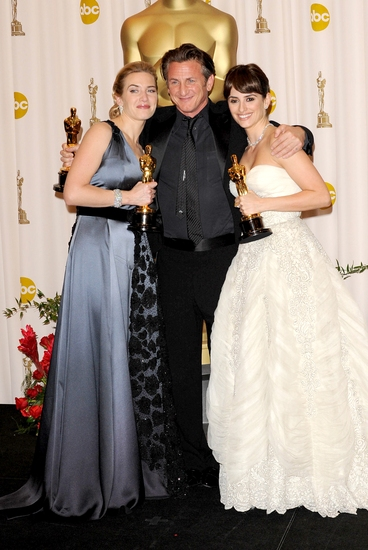 Kate Winslet, Sean Penn and Penelope Cruz Photo
