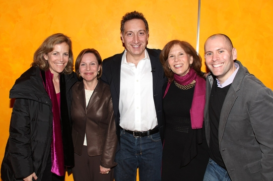 Barbara Whitman, Marianne Mills, Moises Kaufman, Ruth Hendel and Eric Schnall