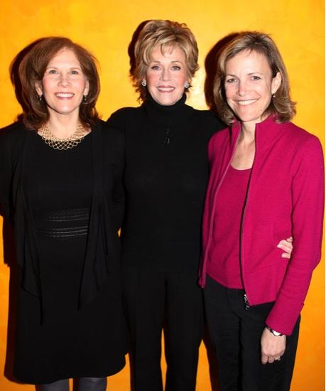 Ruth Hendel, Jane Fonda and Barbara Whitman