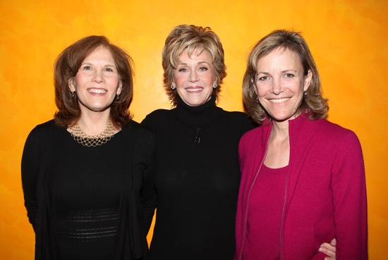 Ruth Hendel, Jane Fonda and Barbara Whitman