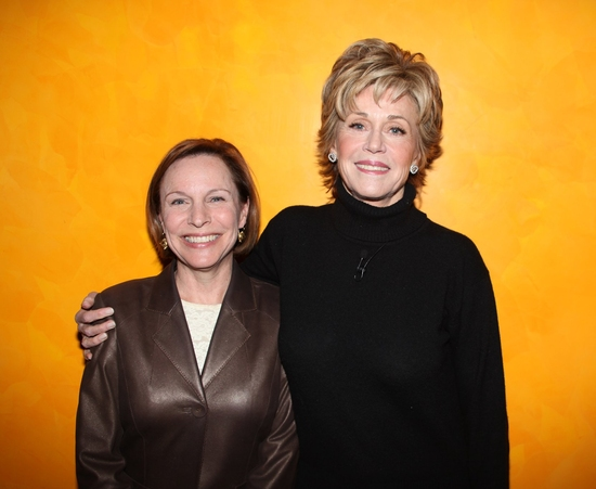 Marianne Mills and Jane Fonda