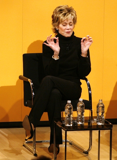 Photo Coverage: 33 VARIATIONS' Fonda & Kaufman Guest at NYT Times Talk