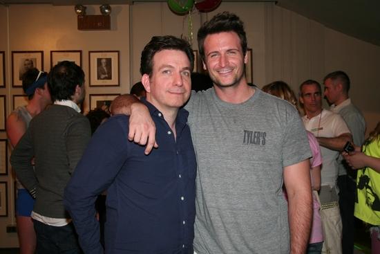Eddie Varley and John Hill