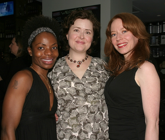 Marsha Stephanie Blake, Alison Weller, and Emily Ackerman