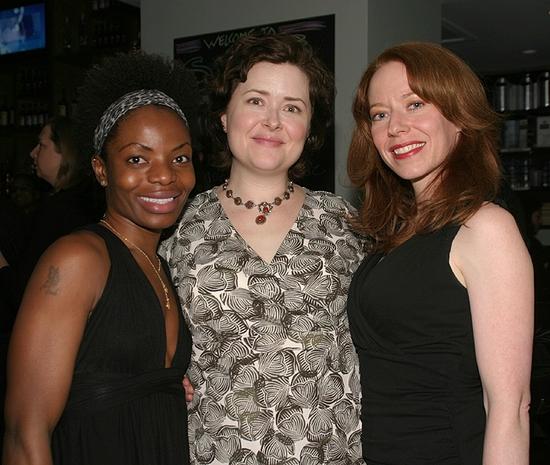 Marsha Stephanie Blake, Alison Weller, and Emily Ackerman