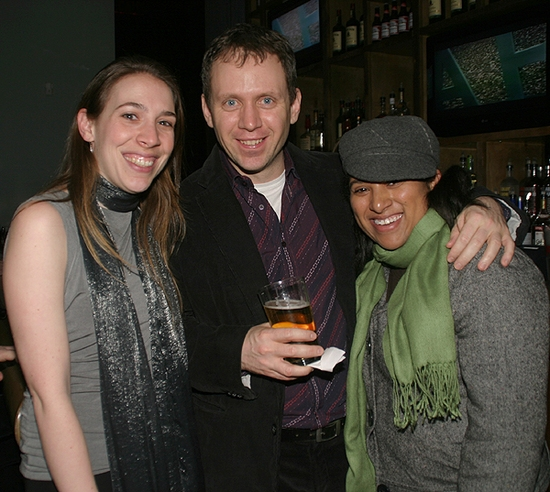 Marion Friedman, Steven Cosson, and Donya Washington.