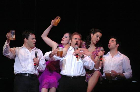 Ryan Silverman, Sarah Jane McMahon, Marc Kudisch, Erin Denman, Kevin Worley
