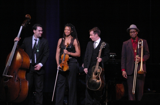 Howard Fishman Quartet-Nathan Peck, Mazz Swift, Howard Fishman, Andrae Murchison