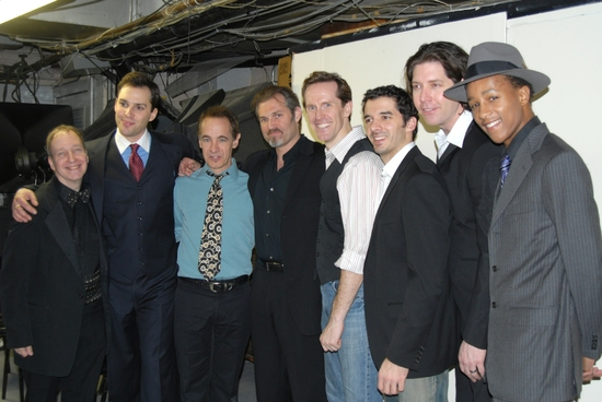 Scott Siefel, Ryan Silverman, Jason Graae, Marc Kudisch, Jeffry Denman,Kevin Worley, James Barbour, Kendrick Jones