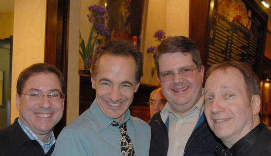 Stuart E. Bloom, Jason Graae, Robert L. Aaron, and Scott Siegel