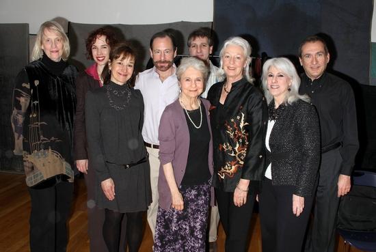 Tina Howe, Shannon Polly, Barbara Marks, Alan Marks, Lynn Cohen, Elliot Fox, Jane Alexander, Jamie DeRoy and Carl Mullenberg