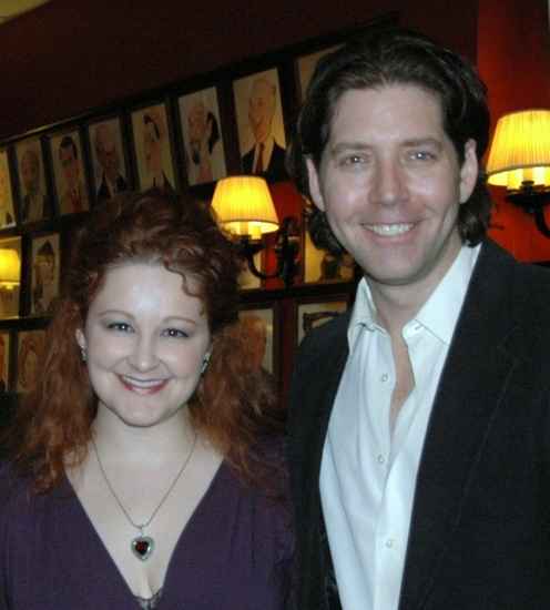 Rebecca Robbins and James Barbour