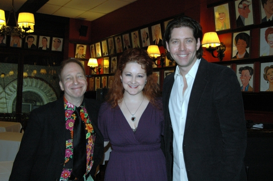 Scott Sigel (Broadway By The Years, Broadway JukeBox), Rebecca Robbins and James Barbour