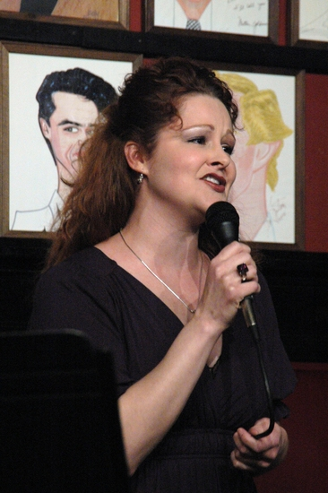 Rebecca Robbins at James Barbour's 'LOVE SONGS' at Sardi's
