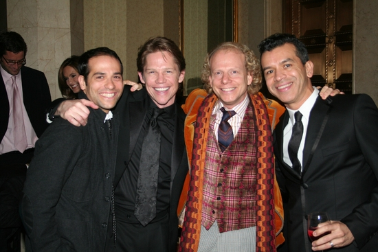 Gabriel Catone, Jack Noseworthy, Academy Award Winning Producer for Americam Beauty and MILK Bruce Cohen and Sergio Trujillo