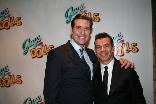 Craig Bierko and Sergio Trujillo