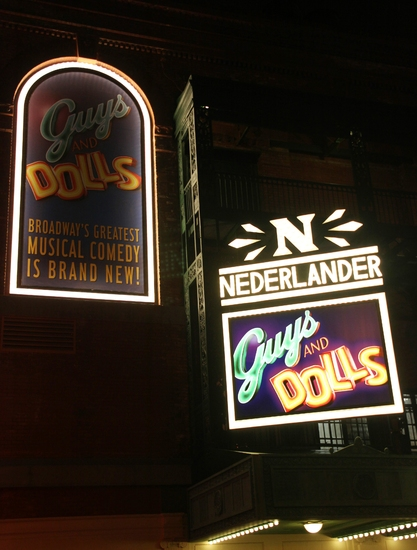 Photo Coverage: GUYS & DOLLS Opening Night Arrivals