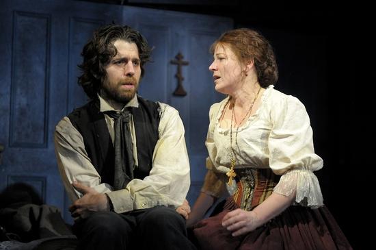 Delia MacDougall and Tyler Pierce