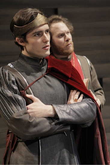Matthew Amendt and Andy Grotelueschen at King Henry V At ATC