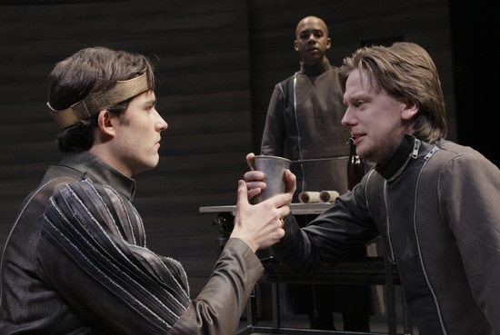 Matthew Amendt and Freddy Arsenault at King Henry V At ATC