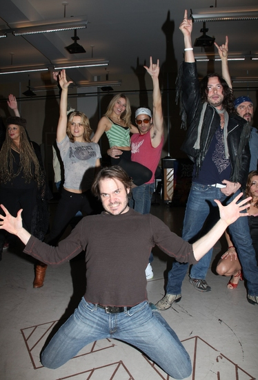 Photo Coverage: 'ROCK OF AGES' First Day of Rehearsal at the New 42nd Street Studios!