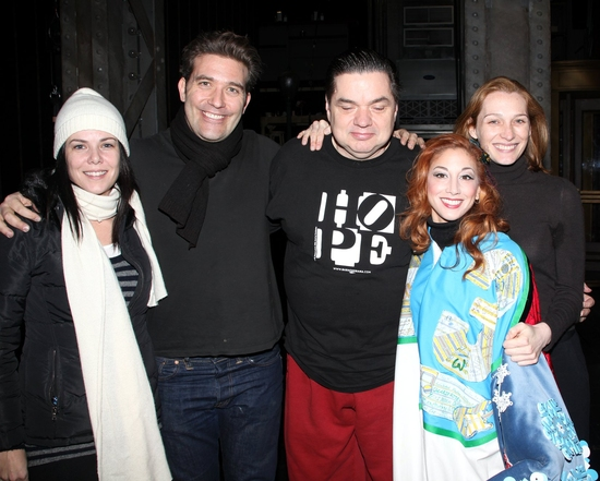 Photo Coverage: GUYS & DOLLS Gypsy Robe Ceremony
