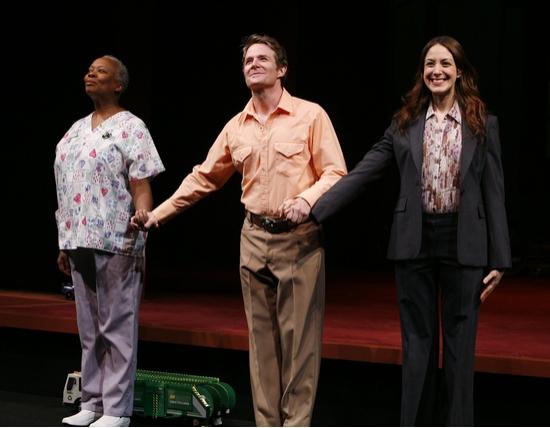 Aleta Mitchell, Peter Benson and Natalie Gold