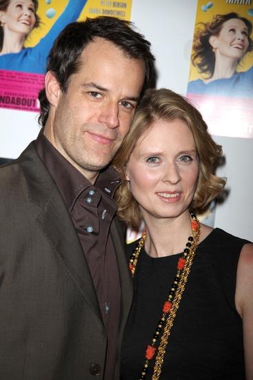 Josh Stamberg and Cynthia Nixon