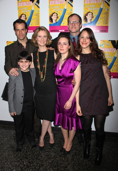 Josh Stamberg, Matthew Gumley, Cynthia Nixon, Shana Dowdeswell, Mark Brokaw, Natalie Gold and Lisa Loomer