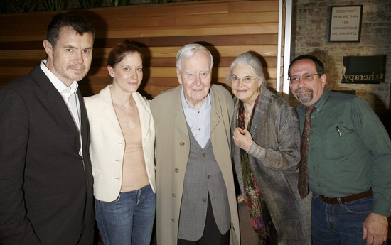 Martin Paklewdinaz, Hallie Foote, Horton Foote and Lois Smith