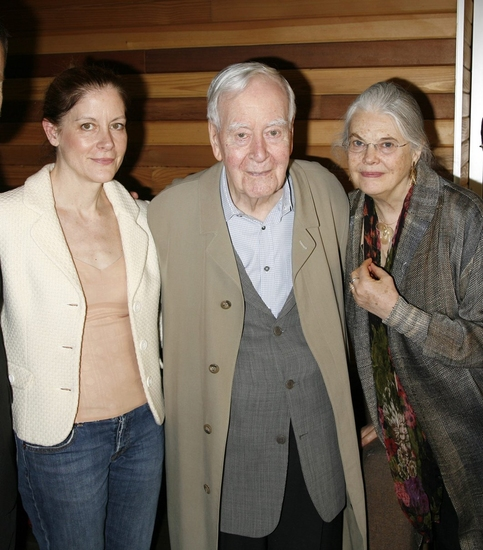 Hallie Foote, Horton Foote and Lois Smith