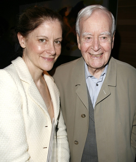 Hallie Foote with Horton Foote at Photo Tribute: Remembering Horton Foote