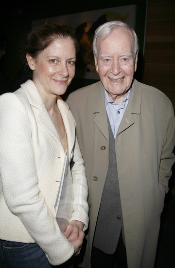 Hallie Foote with Horton Foote