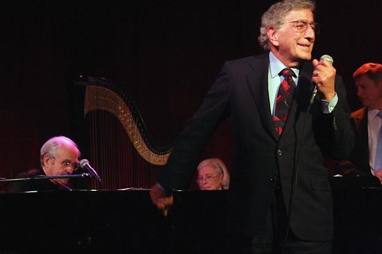 Michel Legrand and Tony Bennett