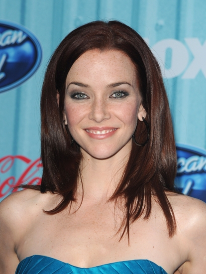 Annie Wersching at FOX Celebrates AMERICAN IDOL's Top 13 Finalists!