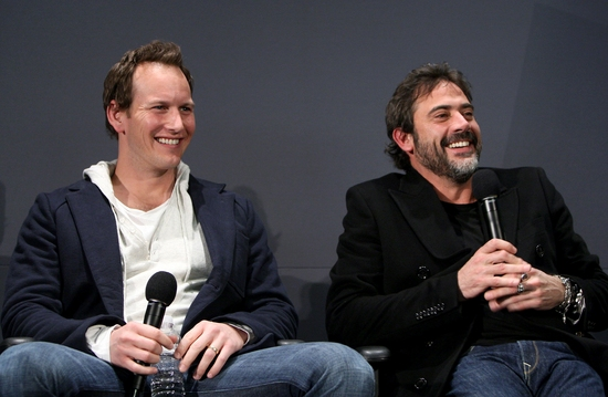 Patrick Wilson and Jeffrey Dean Morgan
