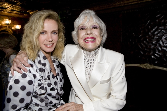 Donna Mills with Carol Channing