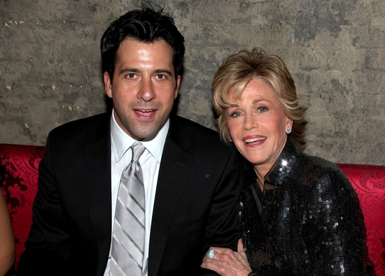 Troy Garity and Jane Fonda