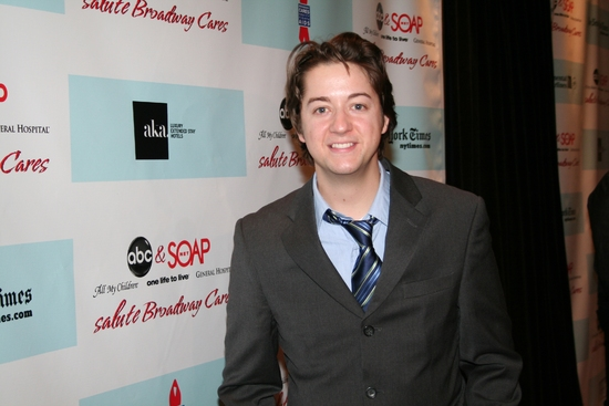 Bradford Anderson (GH) at 'ABC and SOAPnet Salutes BC/EFA' Benefit at Town Hall