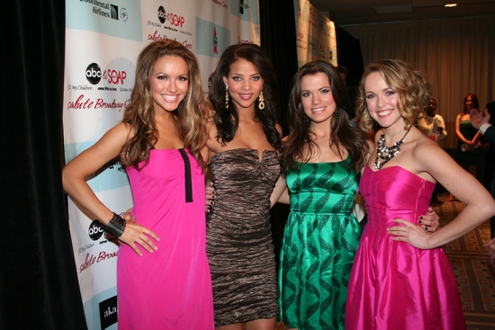Chrishell Strause,  Denise Vasi,  Melissa Claire Egan and Brianne Moncrief