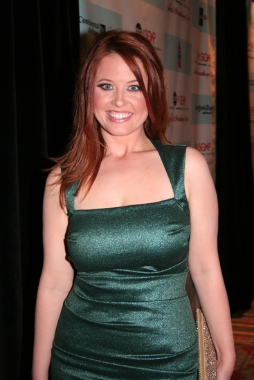 Melissa Archer (OLTL) at 'ABC and SOAPnet Salutes BC/EFA' Benefit at Town Hall