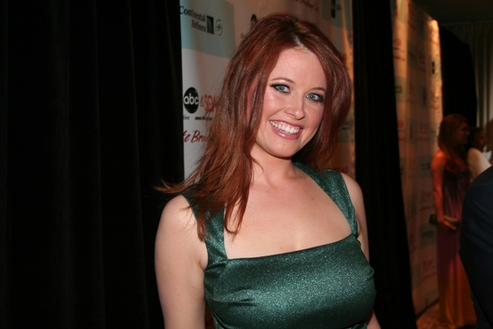 Melissa Archer at 'ABC and SOAPnet Salutes BC/EFA' Benefit at Town Hall