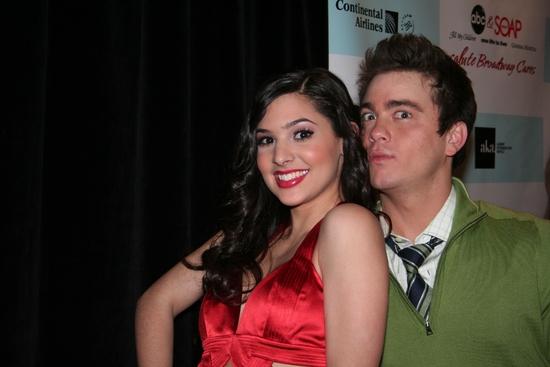 Camila Banus and Brandon Buddy