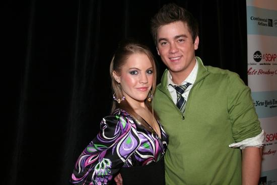 Kristen Alderson (OLTL) and Brandon Buddy