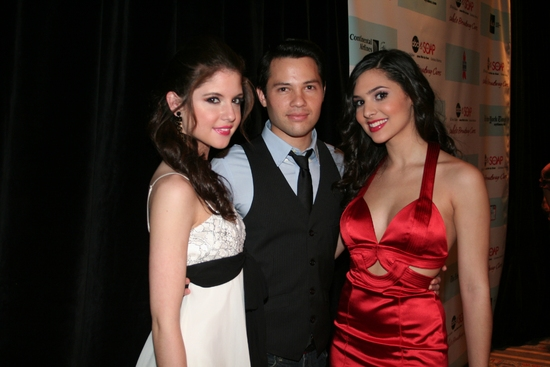 Brittany Underwood, Jason Tam (OLTL) and Camila Banus