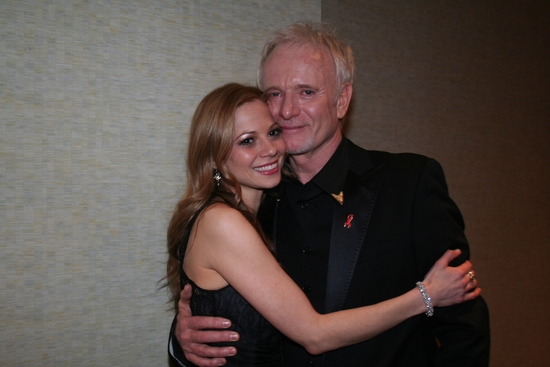 Tamara Braun and Anthony Geary