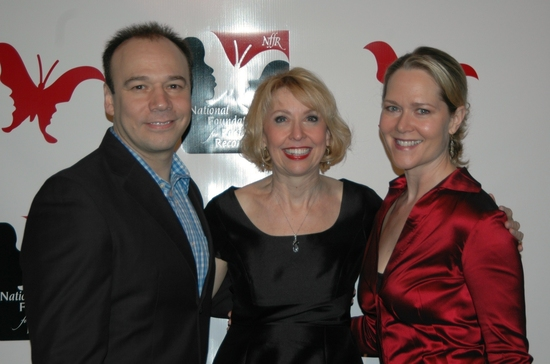 Danny Burstein, Julie Halston and Rebbeca Luker